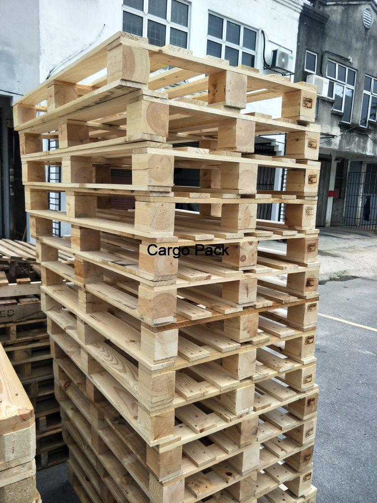 used wooden pallet
